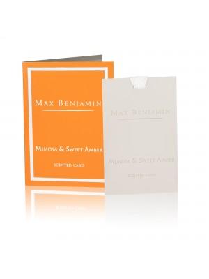 Max Benjamin Geurkaart - Mimosa & Sweet Amber