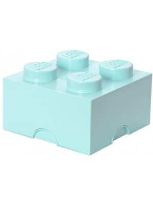 Lego opbergbox brick 4 - Licht blauw