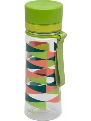Aladdin Aveo Waterfles 0,35 liter Fern met print - groen
