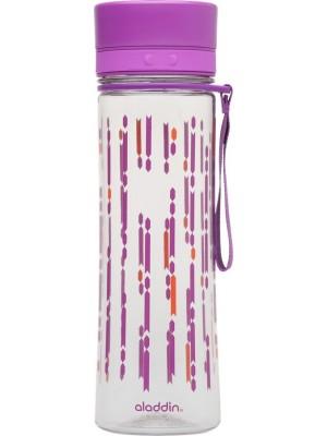 Aladdin Aveo Waterfles 0,6 liter Berry met print