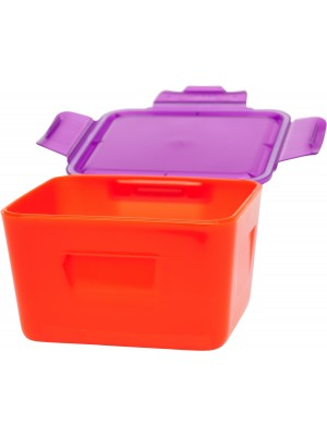 Dubbelwandige Foodcontainer 0,70 liter - Rood