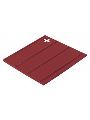 Sambonet Keukenhulp Siliconen Pannanlappen Set van 2 stuks - Rood