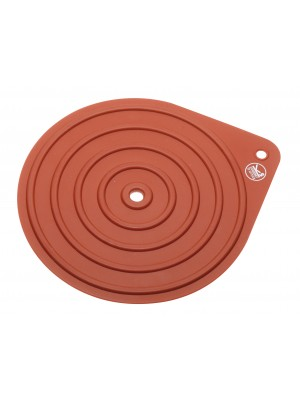 Sambonet Keukenhulp Siliconen Pannenlap - rood