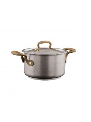 Sambonet Vintage Kookpan Hoog 1,9 L met Deksel