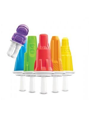 ZOKU Icelolly Pop Maker Ruimtevaart - Set van 6