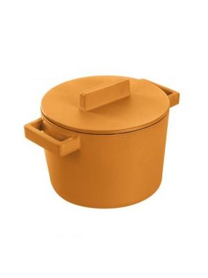 Sambonet Braadpan - Gietijzer - Inclusief Snijplank - Oranje