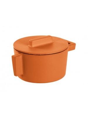 Sambonet ronde braadpan gietijzer 10cm - Curry