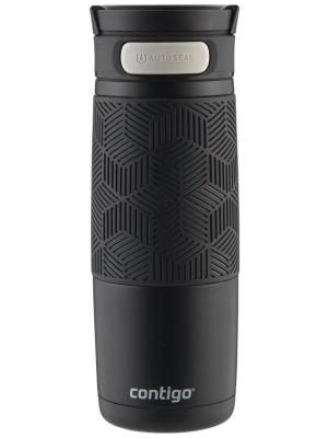 Contigo Thermosbeker Metra Autoseal 470 ml - mat zwart