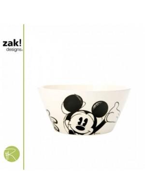 Zak!Designs Disney Classic Mickey Ontbijtkommetje 15 cm - Zwart