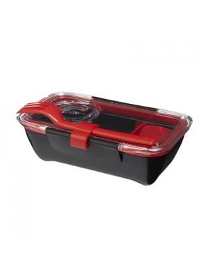 Black+Blum Box Appetit Lunchbox Bento - Rood / Zwart