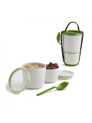 Black+Blum Box Appetit Lunchpot 550 & 300 ml - Lime