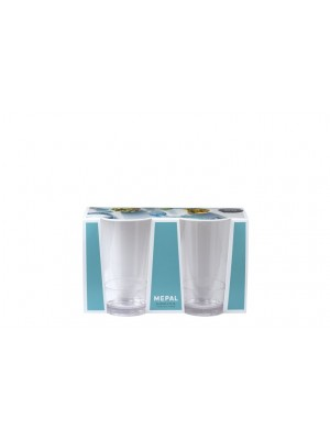Mepal Glas Flow 275 ml - set van 2 stuks