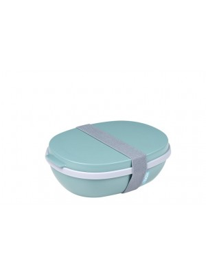 Mepal Saladbox Ellipse DUO - Nordic Green