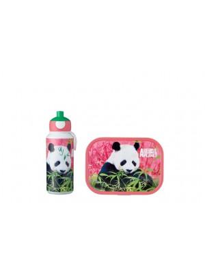 Mepal Lunchset Campus (pop-up drinkfles en lunchbox) - Animal Planet Panda
