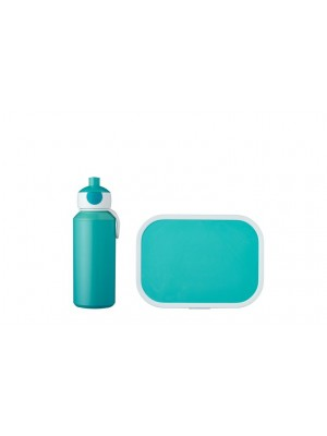Mepal Lunchset Campus (pop-up drinkfles en lunchbox) - Turquoise