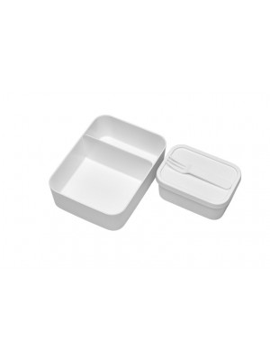 Mepal Set inhoud bento lunchbox  - Wit