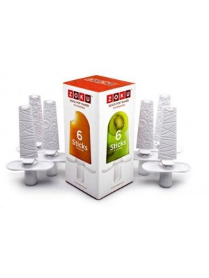 Zoku - Quick Pop Maker Sticks (6 stuks)